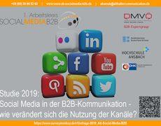 Umfrage 2019 1. Arbeitskreis SOCIAL MEDIA B2B